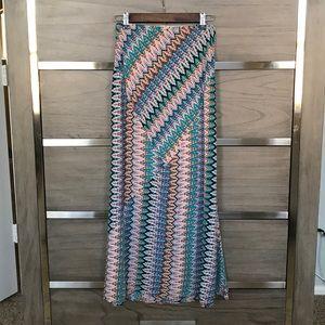 Lily White Maxi Skirt